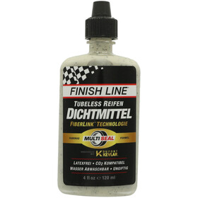 Finish Line Tubeless - 120ml blanco/negro